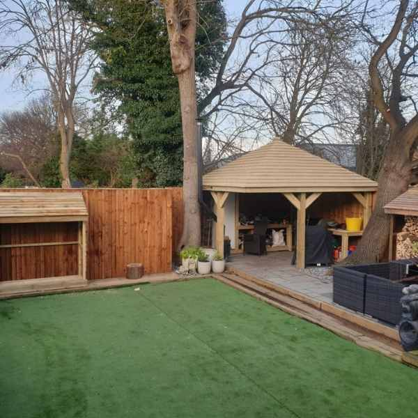 garden building projects in southend